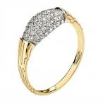 Кольцо золотое 01К1310480