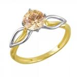 Кольцо золотое 01К2610857Ж-2