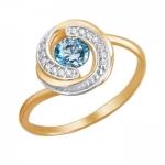 Кольцо золотое 01К2111474Р-2