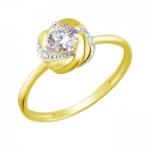 Кольцо из желтого золота 01К1311473Р
