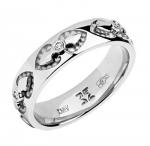 Обручальное кольцо с бриллиантами 01О620329