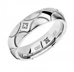 Обручальное кольцо с бриллиантами 01О620333