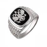 Перстень печатка из серебра 01Т4510890-1