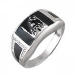 Перстень печатка из серебра 01Т154997Э