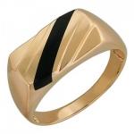 Перстень печатка из золота 01Т411520-1