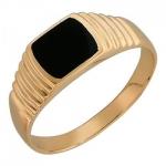 Перстень печатка из золота 01Т411511-1