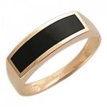 Перстень печатка из золота 01Т415202-1