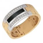 Перстень печатка из золота 01Т463917-1
