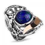 Серебряное кольцо Yaffo с лазуритом SAR1147