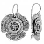 Серьги из серебра с фианиом MVE1525CZ