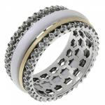 Кольцо антистресс Deno из серебра SNR3397W