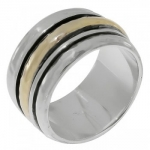 Кольцо антистресс Deno из серебра SNR665