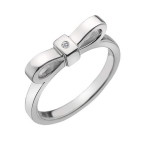 Серебряное кольцо Hot Diamonds с бриллиантом DR196