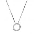 Серебряный кулон Hot Diamonds с топазами и бриллиантом DP661