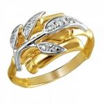 Кольцо золотое 01К1611723Ж