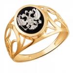 Перстень печатка из золота 01Т4611721-1