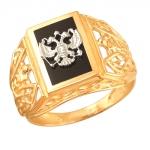 Перстень печатка из золота 01Т4611718-1