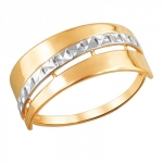 Кольцо золотое 01К7111955Р