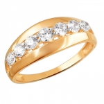 Кольцо золотое 01К1111885Р