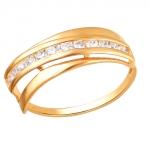 Кольцо золотое 01К1111905