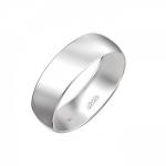 Обручальное кольцо из белого золота 01О020386