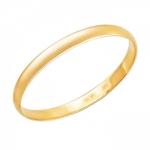 Обручальное кольцо из золота 01О010443