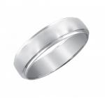 Обручальное кольцо из белого золота 01О720211