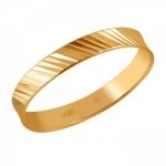Обручальное кольцо из золота 01О710440