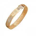 Обручальное кольцо из красного золота 01О710391