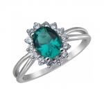 Кольцо из серебра 01К258519-2