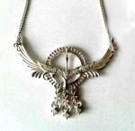 Серебряное якутское колье Узор Утум L098