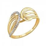 Кольцо из желтого золота 01К1311164Р