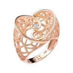 Кольцо из золота с бриллиантами 01К617631