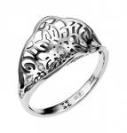 Кольцо из белого золота с бриллиантами 01К627627