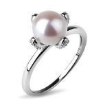 Серебряное кольцо De Luna с жемчугом KKR123