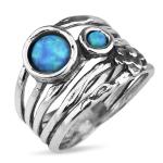 Серебряное кольцо Yaffo с опалом TZR425