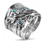Серебряное кольцо Yaffo с опалом TZR307