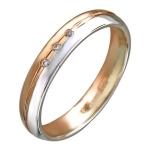 Обручальное кольцо из золота 01О160281