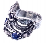 Серебряное кольцо Yaffo с фианитами SAR1191