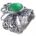 Серебряное кольцо Yaffo с авантюрином SAR1198