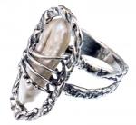 Серебряное кольцо Yaffo с жемчугом SAR1229