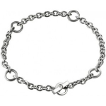 Браслет из серебра с бриллиантом Hot Diamonds DL061