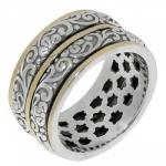 Кольцо Антистресс Deno из серебра SNR4235