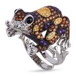 Серебряное кольцо Sandara с фианитами YJR007