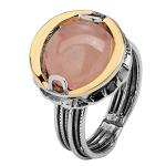 Серебряное кольцо Yaffo с кварцем SAR650RQ