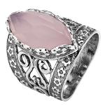 Серебряное кольцо Yaffo с кварцем SAR541PQ