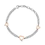 Серебряный браслет Hot Diamonds с бриллиантом DL565