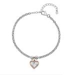 Серебряный браслет Hot Diamonds с бриллиантом DL563