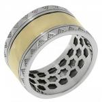 Кольцо Антистресс Deno из серебра SNR4416G