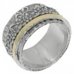 Кольцо Антистресс Deno из серебра SNR4401G